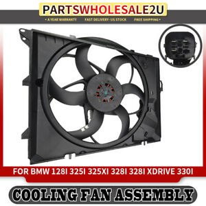 New Radiator Side Cooling Fan Assembly For BMW 325i 328i 330i xi E90 /& 128i