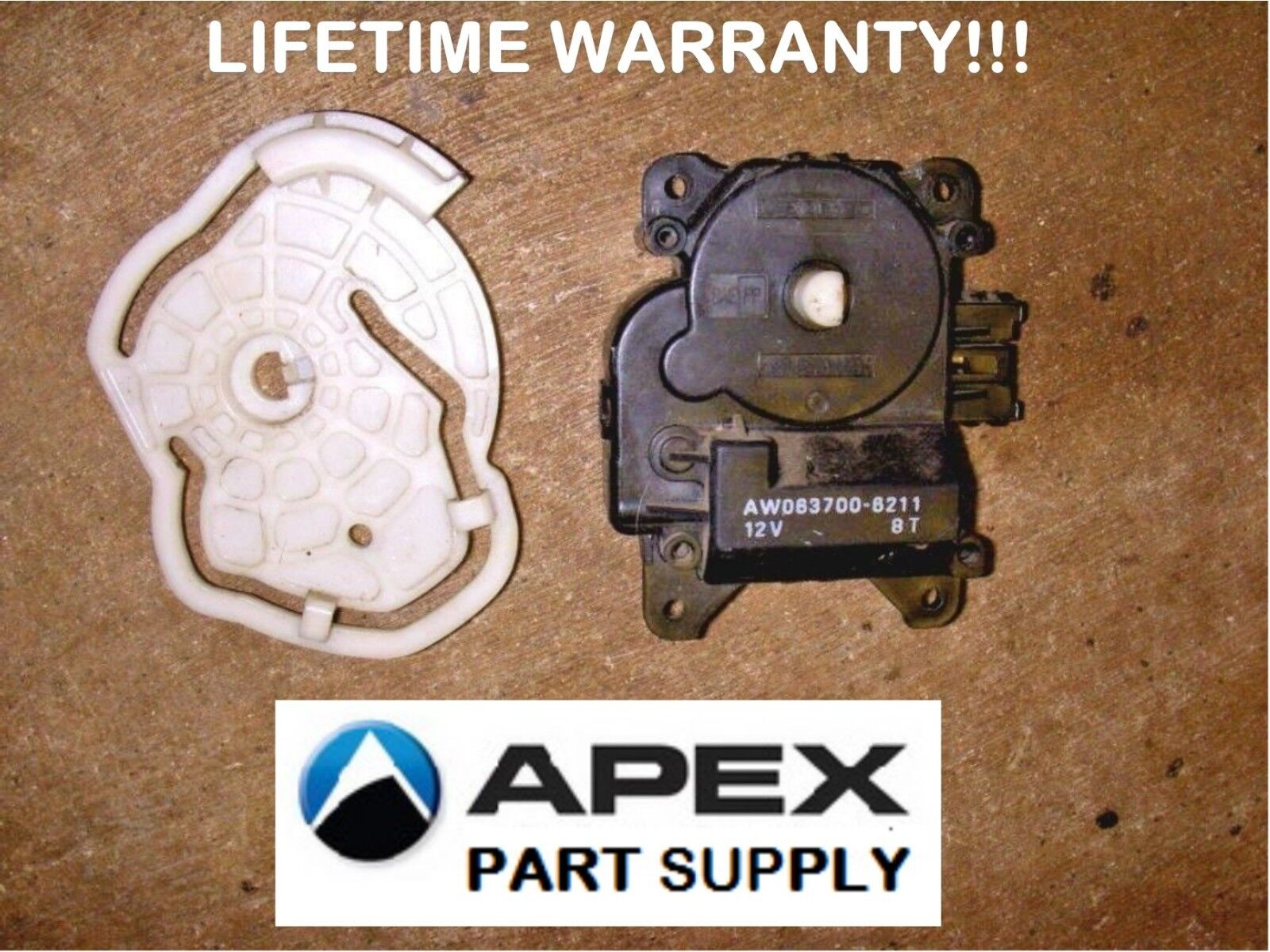 REMANUFACTURED 97-01 Toyota Camry A//C Heater Air Outlet Servo Motor 8710606060