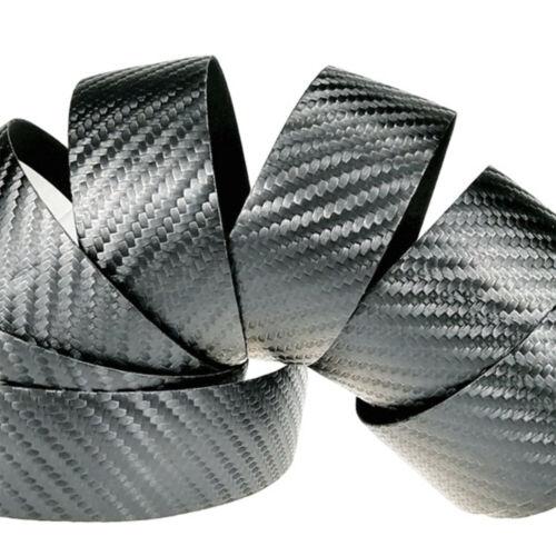 Road Bike Bar Tape Carbon Fiber 3D Texture Drop Bar Handlebar Carbon Look Black