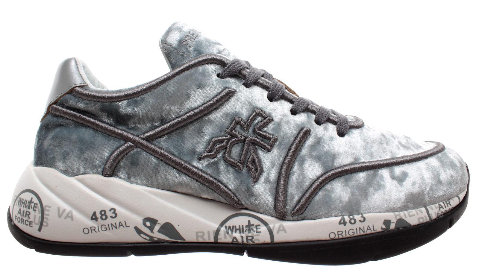 PREMIATA shoes women Sneakers Liu 3499 Tessuto Tecnico silver silver silver Nuove a6ea48