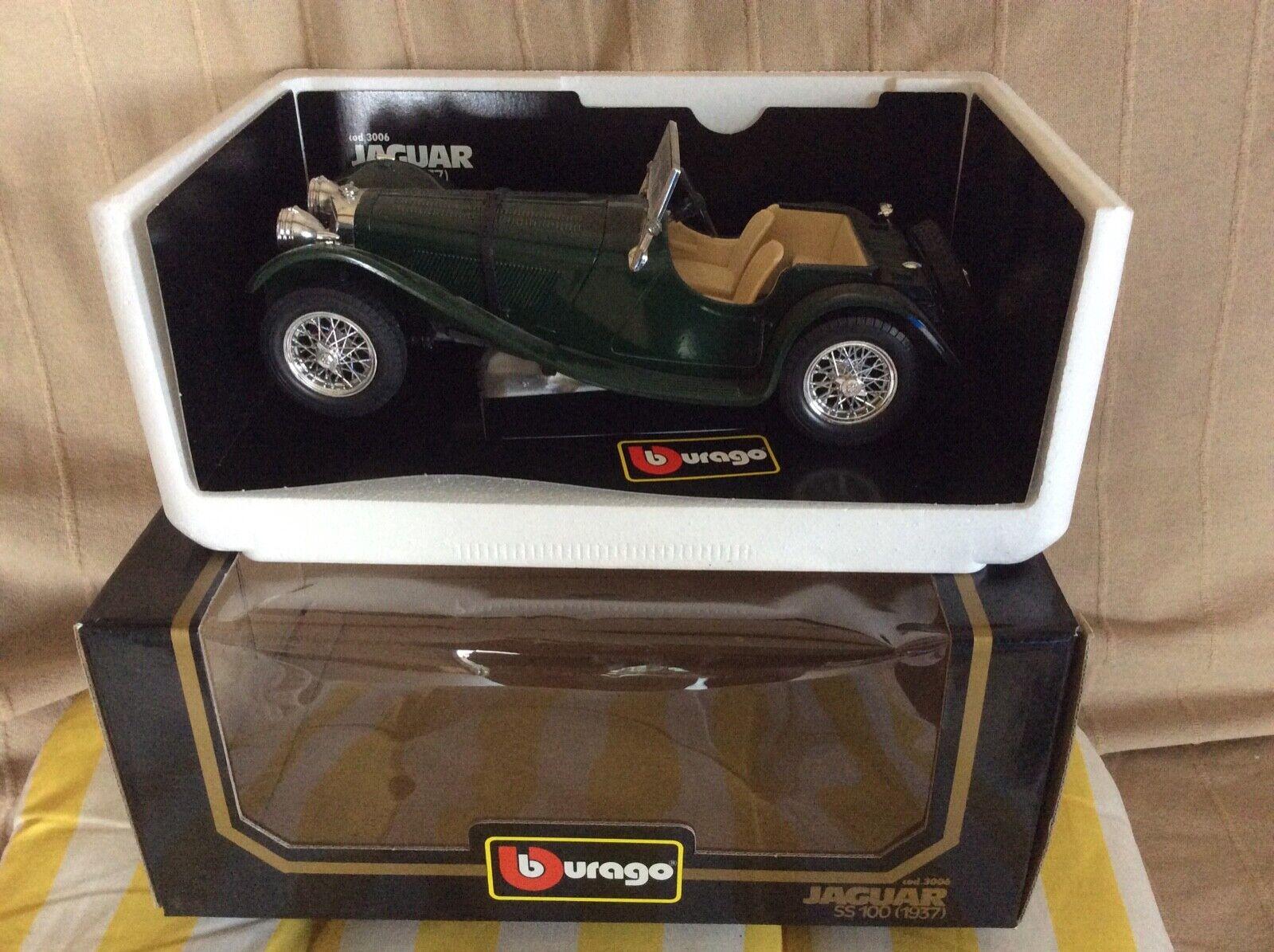 barato Jaguar SS100 Burago 1 18 18 18  punto de venta en línea