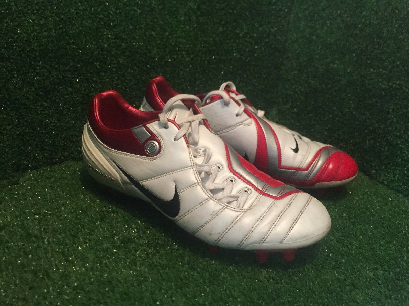 NIKE AIR ZOOM TOTAL 90 I FG SUPREMACY FOOTBALL CLEATS 8,5 7,5 42