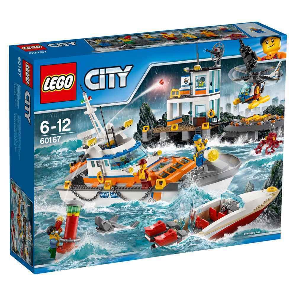 LEGO® City 60167  Küstenwachzentrum  Seenotrettung NEU OVP NEW MISB