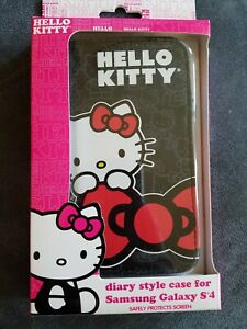 Hello-Kitty-Diary-Style-Case-for-Samsung-Galaxy-S4-Safely-Protects-Screen-KT4499