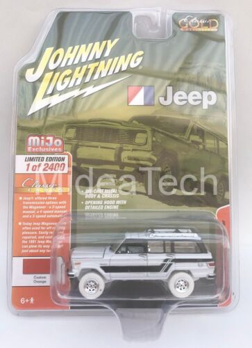 Johnny Lightning 1981 Jeep Wagoneer 4x4 Limited 1//64 Diecast Car JLCP7314 Chase