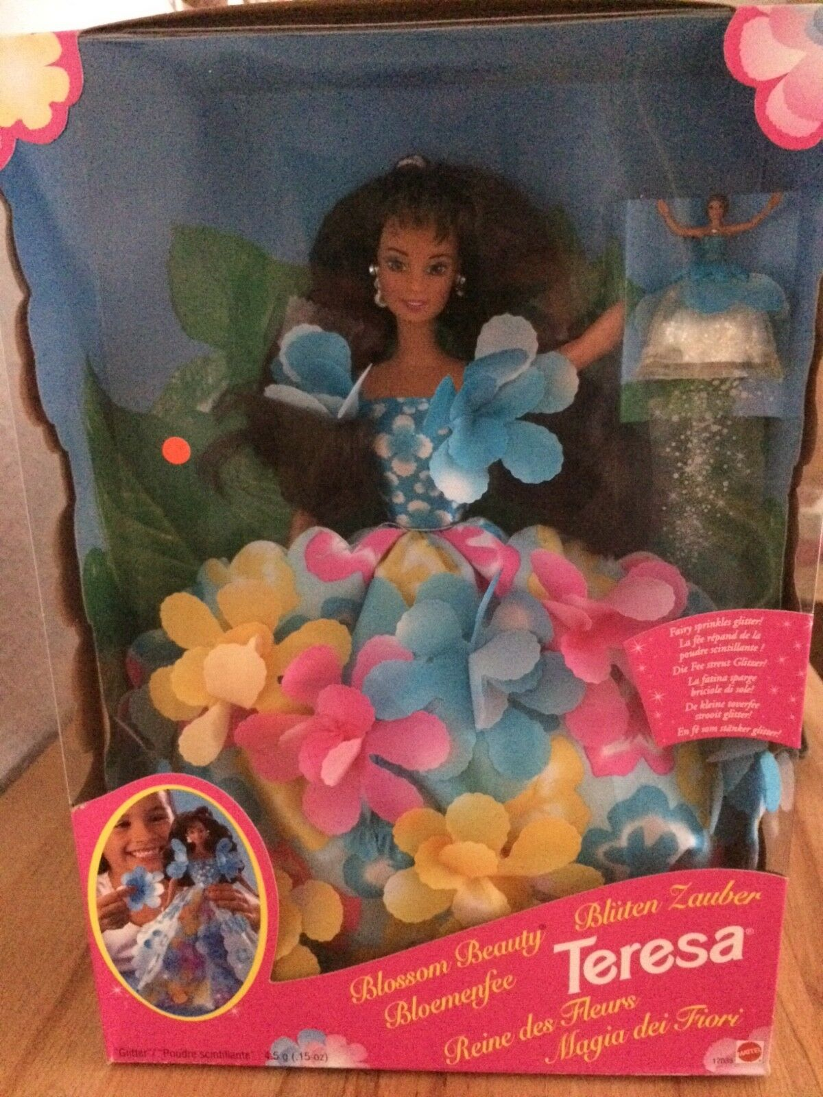 Barbie flores mágica Teressa mattel 17035