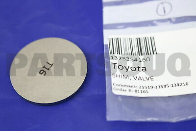 VALVE ADJUSTING 13753-74250 1375374250 Genuine Toyota SHIM