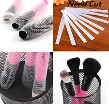 30Pc HUAC Cosmetic Make Up Brush Pen Netting Cover Mesh Sheath Protectors Guards