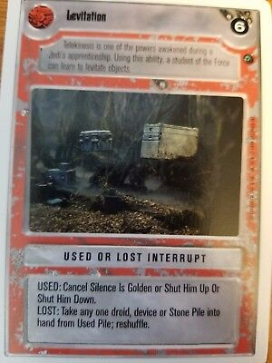 Star Wars CCG WB Unlimited Dagobah Stone Pile