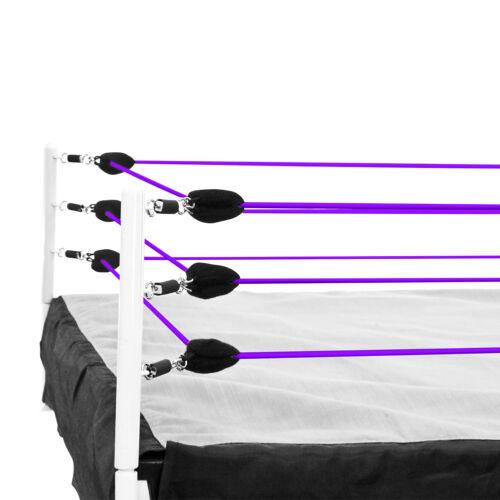 Purple Ring Cordes pour Wrestling Action Figure Ring par Figures Toy Company