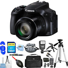 Canon PowerShot SX60 HS Digital Camera (Black)!! PRO BUNDLE BRAND NEW!!