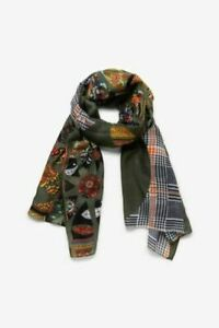 Women-039-s-Desigual-Long-Scarves-Soft-Cotton-Wrap-Shawl-Chiffon-Scarf-Neck-htdhtd