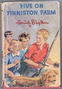 FIVE-ON-FINNISTON-FARM-BY-ENID-BLYTON-1965