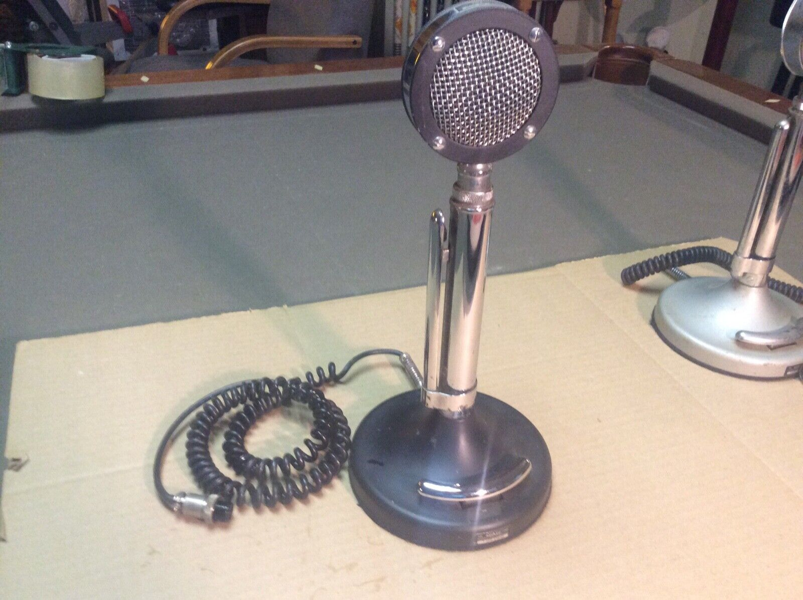 Astatic D-104 microphone with T-UP9 Stand, 4 pin. Buy it now for 85.00