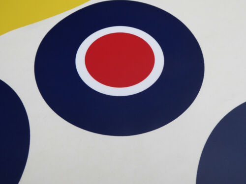 RC Aircraft Plane RAF LARGE SCALE ROUNDELS  stickers decals SET 2