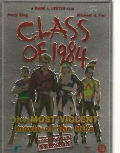DVD-CLASS-OF-1984-METAL-COLLECTOR-039-S-BOX-ENGLISH-NEDERLANDS-REGION-2-PAL