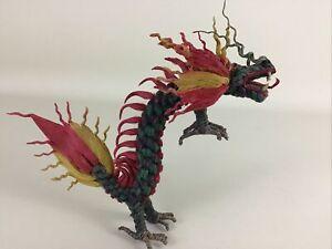 String Dragon Fire Breathing Handmade Dragon Figure Collectible Fantasy Creature