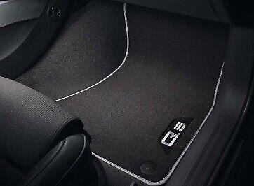 Genuine Audi Q5 8R 2011 2012 2013 2014 Front /& Rear Rubber Carpet Floor Mats