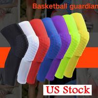 Basketball Knee Pads Kneepad Honeycomb Knee Leg Compression Sleeve Support Guard