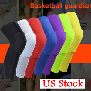 Basketball-Knee-Pads-Kneepad-Honeycomb-Knee-Leg-Compression-Sleeve-Support-Guard