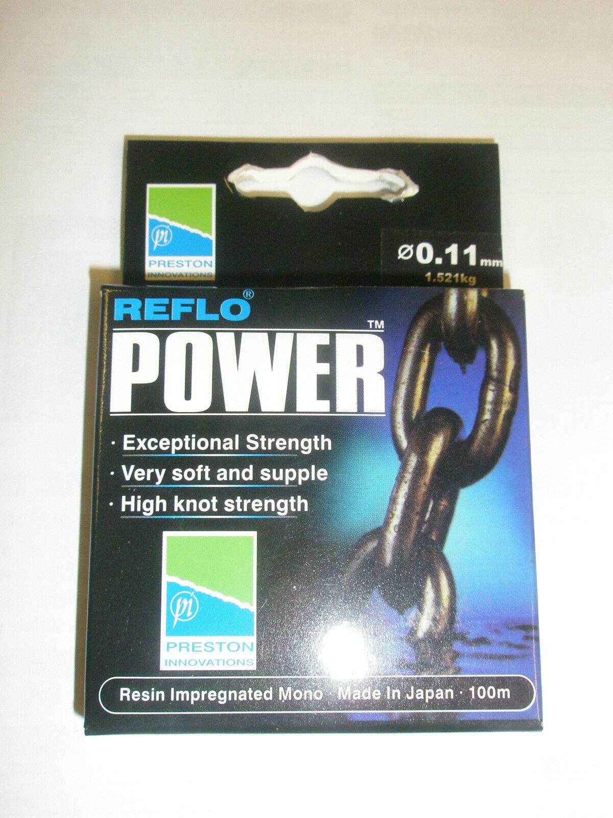 Preston Innovations Reflo POWER LINE VARIOUS SIZES Made in JAPAN