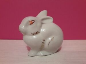 Rabbit Polonne Porcelain Figurine Soviet USSR Vintage Russian Propaganda Not lfz