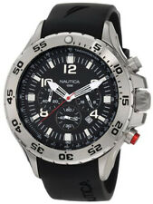 Nautica Men's Black Resin Chronograph Watch N14536
