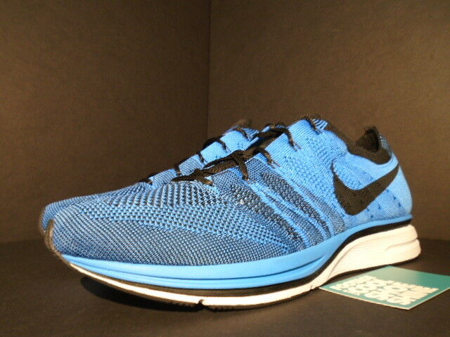 2012 Nike Flyknit Trainer + Racer un resplandor azul tinte tinte tinte blancoooo Negro 532984-440 7.5 f992f2