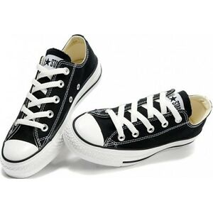 fc3a7acb6f6 Converse Chuck Taylor OX Low Top Black White Mens Womens Shoes Sizes ...