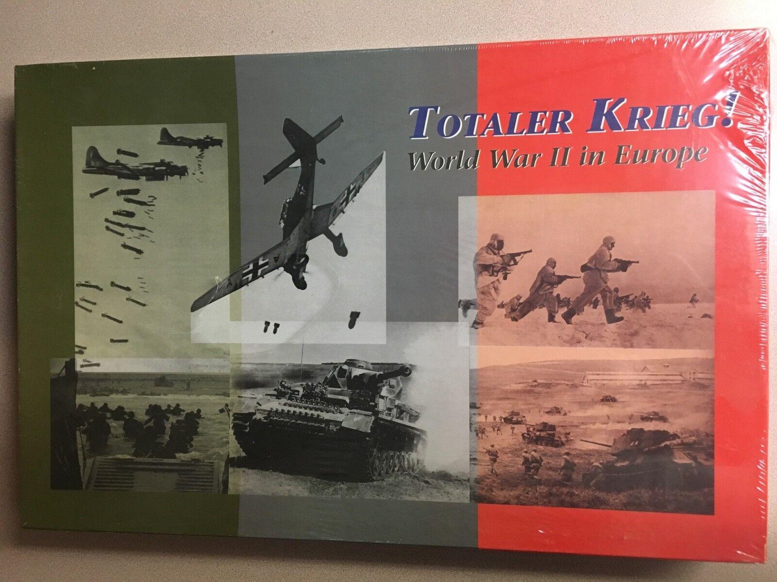 Totaler Krieg   World War ll in Europe - Decision Games