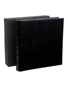 Profile Regal Dry Mount Photo Album Black 320mm x 320mm - 80 pages