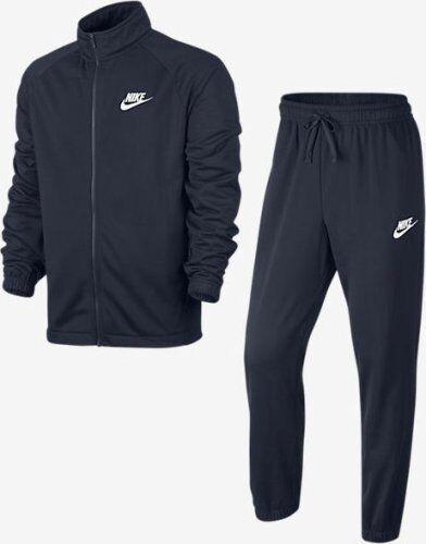 Uomo Nike Season 2 Poliestere Zip Zip Zip Tuta Nero Bianco Crema   Nero Blu Navy Bianco 7dd806