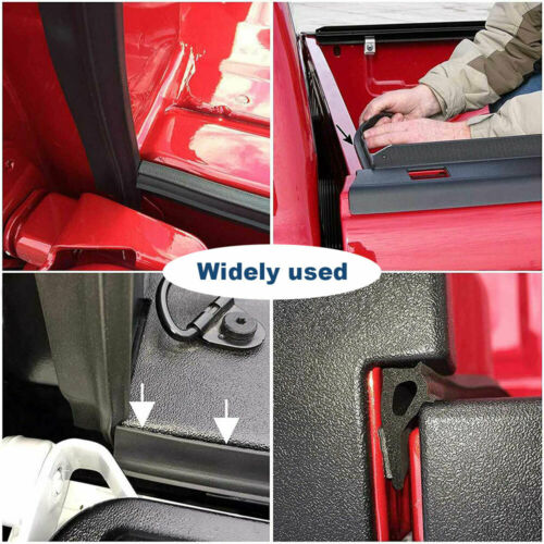 P-Typ Fensterdichtung Selbstklebend PKW Autotürdichtung Gummi Dichtungsband DHL