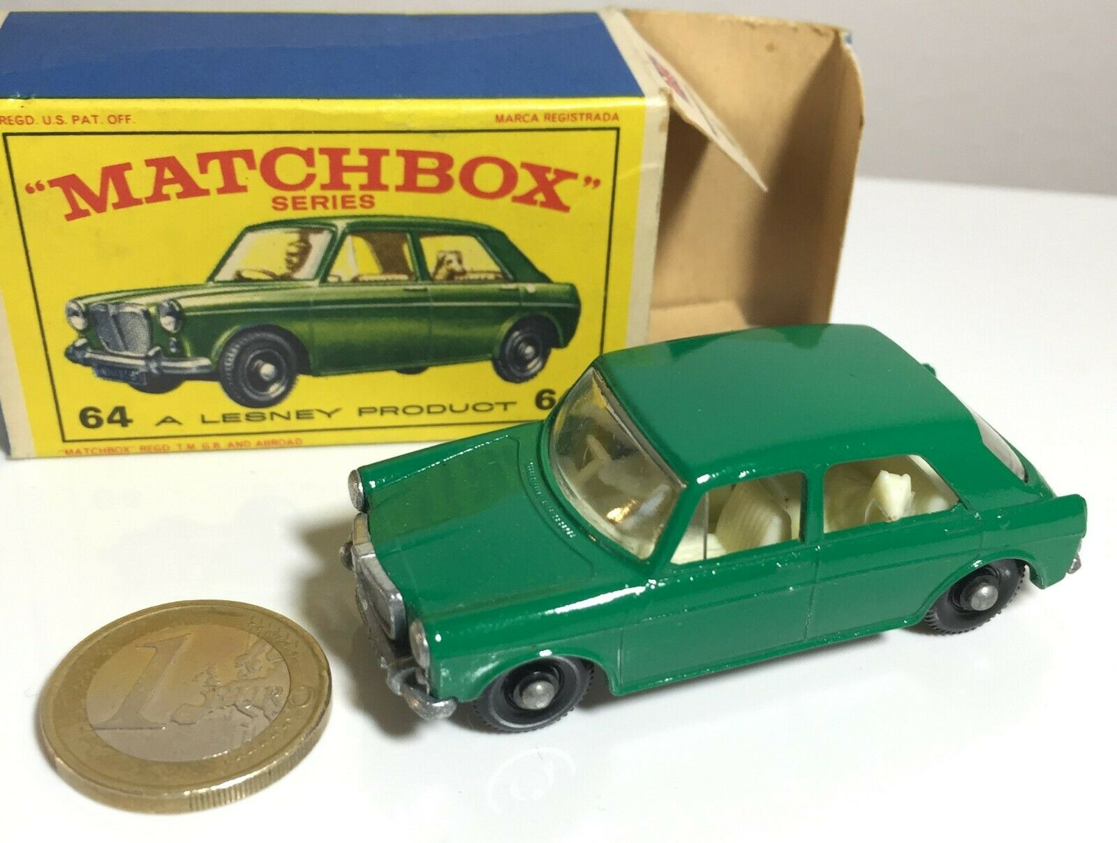 Matchbox Lesney  64 M.G. 110 New Model, Original Box, between 60s 70s