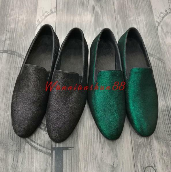 Mens Breathable Pointy Toe Slip On Loafers Leather oxford shoes Driving shoes