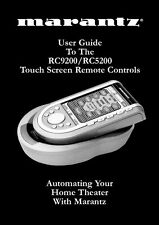 Marantz RC9200 Remote Control Owners Manual