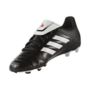 adidas Conquisto TRK FG J Soccer Cleat Black//Red Size 4.5