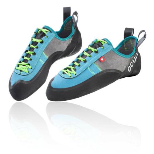 Ocun Mens Strike LU Climbing Shoes Blue Grey Sports Breathable Lightweight
