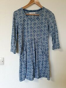 Seasalt-Organic-Cotton-Floral-Retro-Print-Tunic-Top-With-Pockets-Size-10