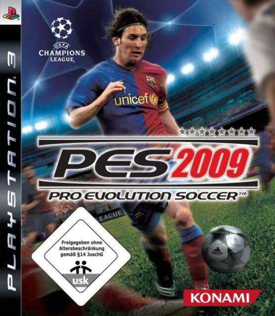 PS3 Pro Evolution Soccer 2009 / PES 09 Standard] AL/ANG dans l'emballage utilisé