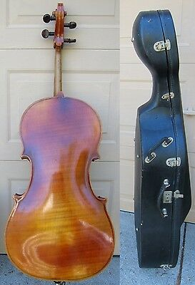 1961 Scherl Roth 3 4 Cello Copy Of Strad Germany Made Bow