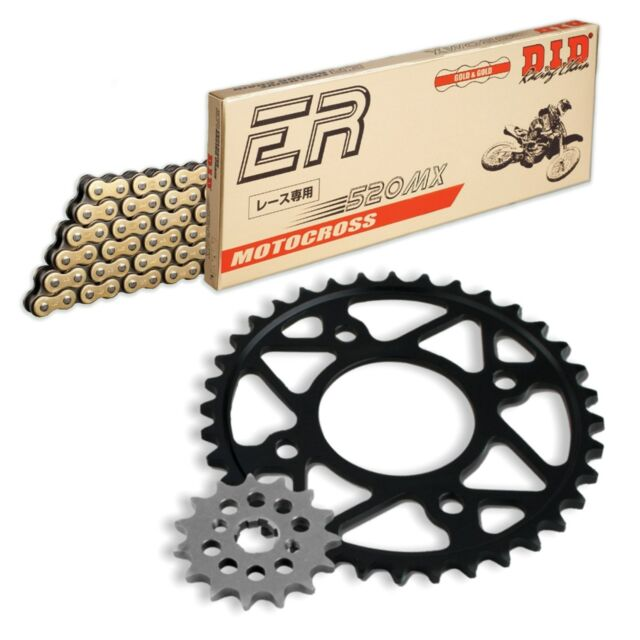 Husaberg FS450 e 2004 MX DID Chain & Sprocket Kit Alloy Rear