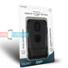 Trident Aegis Black Case Cover for Samsung Galaxy S 2 II D710 Epic 4G Touch R760