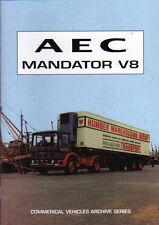 Truck lorry road haulage book:  AEC MANDATOR V8