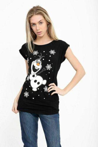 XMAS T SHIRT NOVELTY SANTA REINDEER SNOWMAN CHRISTMAS OLAF MINION T-SHIRT TOP
