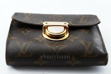 Authentic Louis Vuitton Monogram Joey Compact Trifold Wallet TA5040-%