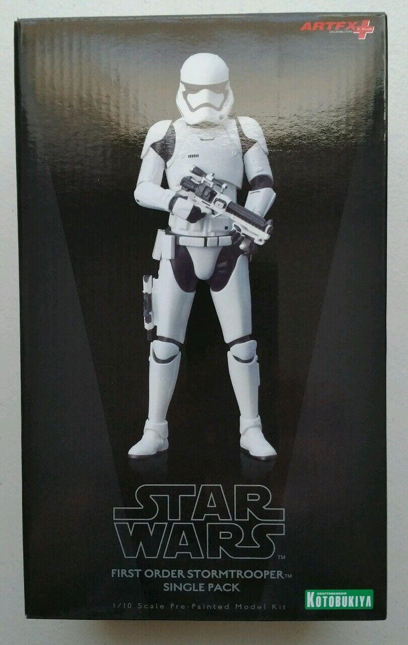 Kotobukiya um 1  10 artfx + statue stormtrooper - skala