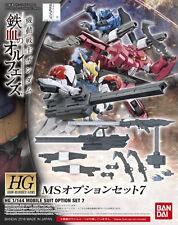Gundam G-Tekketsu 1/144 HG Gundam Iron-Blooded Orphans  MS Option Set 7 USA
