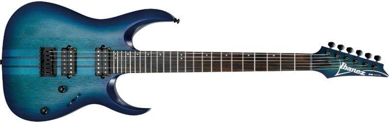 Ibanez RGAT62-SBF Iron Label, Sapphire Blau Flat