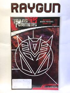 Transformers-Official-Movie-Prequel-2-Cover-B-NM-1st-Print-IDW-Comics
